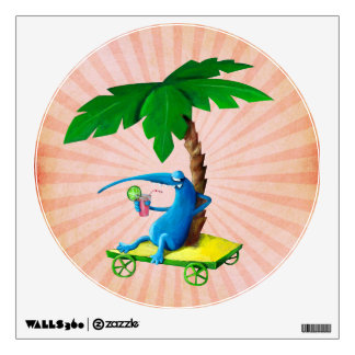 Relax on The Beach Wall Sticker