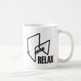 Relax Pendulum Classic White Coffee Mug