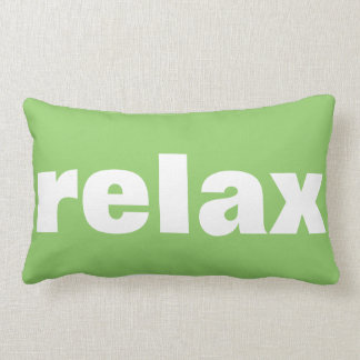 Relax Pillow in Green Apple