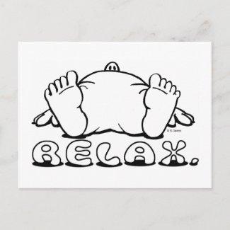 Relax Postcard postcard