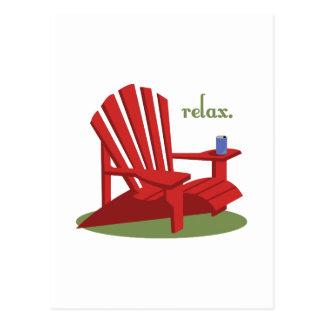 Relax Postcard