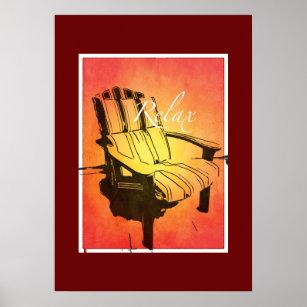 https://rlv.zcache.com/relax_red_orange_adirondack_chair_summer_beach_the_poster-r22109dd107bb48a2ac8284ba936de866_vevj5_8byvr_307.jpg