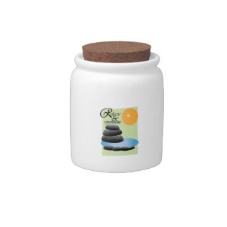 Relax & Rejuvenate Candy Dish