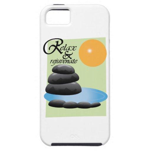 Relax & Rejuvenate iPhone 5 Case