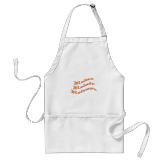 Relax, Relate, Release, Adult Apron
