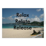 Relax Relate Release Card
