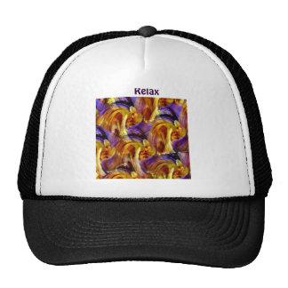 Relax, Relate, Release_ Trucker Hat