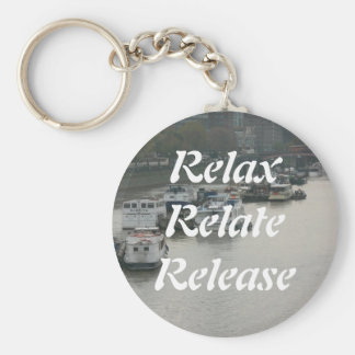 Relax, Relate, Release, Keychain