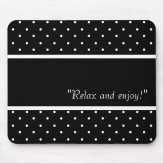 RELAX-SELF-EXPRESSION--TEMPLATE-VINTAGE-STYLISH MOUSE PAD