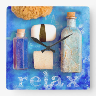 Relax Square Wall Clock