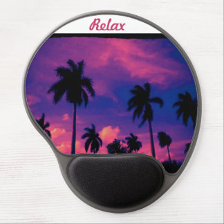 Relax sunset mousepad gel mouse pad