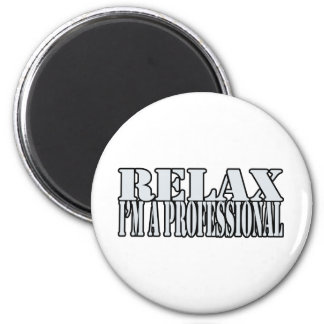 Relax t-shirt magnet