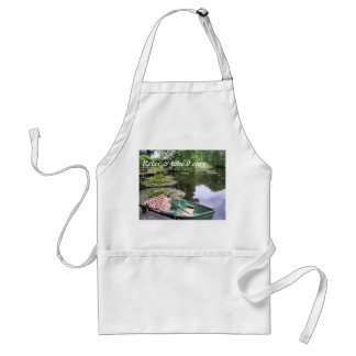relax & take it easy adult apron
