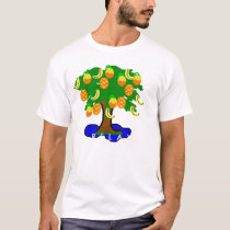 Relax Tropical Tree-Shirt T-Shirt