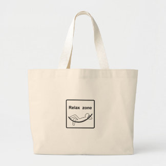 relax zone.ai large tote bag