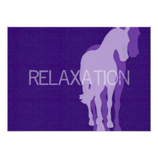 RELAXATION 16 x 22 Canvas Print