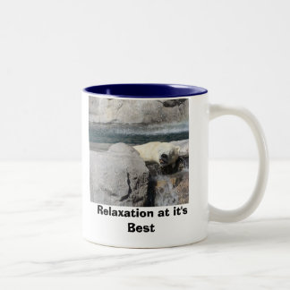 Relaxation at it's Best Two-Tone Coffee Mug