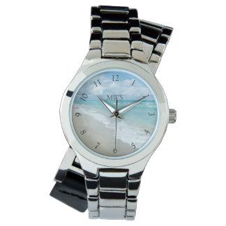Relaxation Beach View Monogram Wristwatch