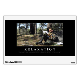 Relaxation: Inspirational Quote Wall Skin