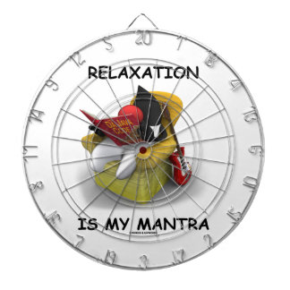 Relaxation Is My Mantra (Java Duke Code) Dart Board