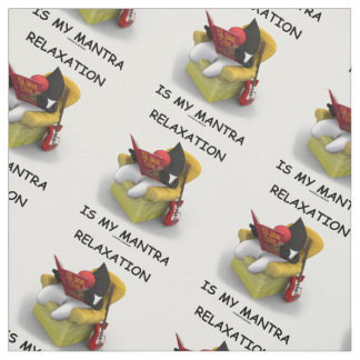 Relaxation Is My Mantra (Java Duke Code) Fabric