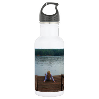 Relaxation 18oz Water Bottle