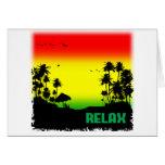 relaxation rasta card