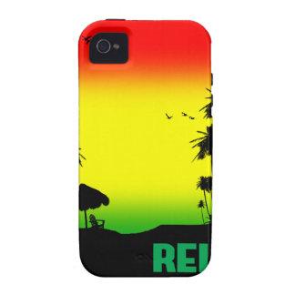 relaxation rasta iPhone 4 case