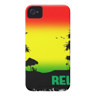 relaxation rasta iPhone 4 Case-Mate cases