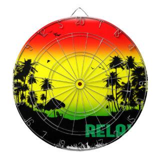relaxation rasta dart board