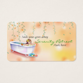 Relaxation Spa Business Card