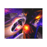 Relaxation Theory Abstract Canvas Print