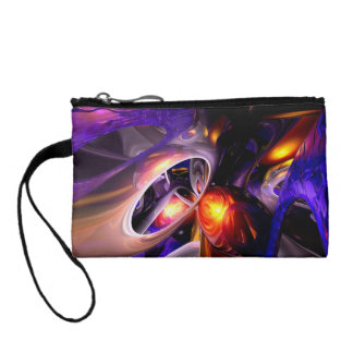 Relaxation Theory Abstract Coin Wallet