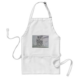 Relaxation time adult apron