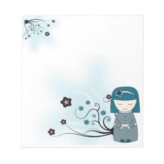 Relaxed geisha - Notepad