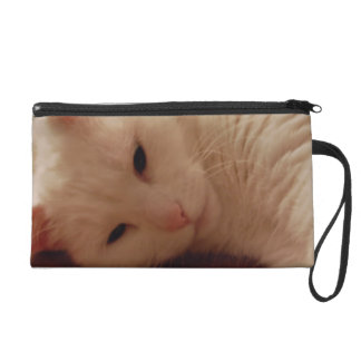 Relaxed Kitty Wristlet Clutches