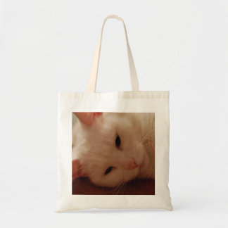 Relaxed Kitty Canvas Bags