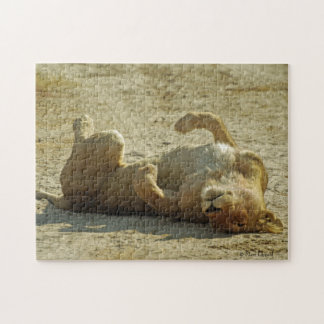 Relaxed Lion Puzzle
