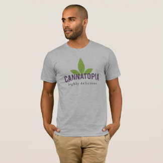 Relaxed Men's Cannatopia Logo Tee