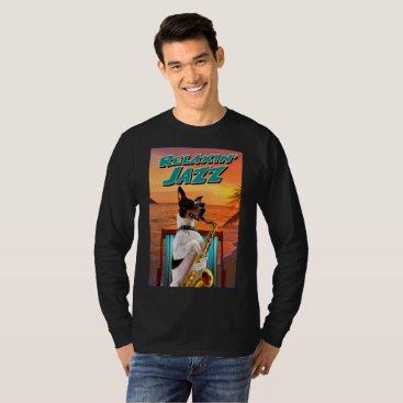 Beach Themed RELAXIN' JAZZ T-Shirt