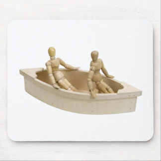 RelaxInBoat013110 Mousepads