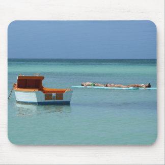 Relaxing at Sea Mousepad