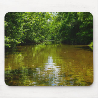 Relaxing At The Creek Mouse Pad