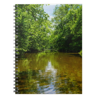 Relaxing At The Creek Notebook