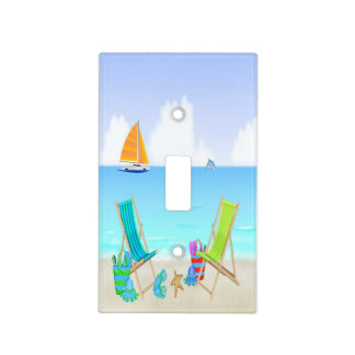Relaxing Beach Light Switch Covers