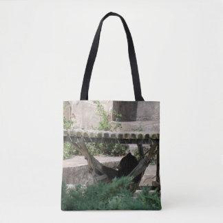 Relaxing Bear Tote Bag