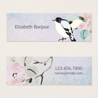 Relaxing Birds ~ Calling Card Asian Nature