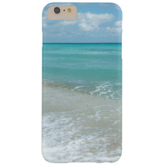 Relaxing Blue Beach Ocean Landscape Nature Scene Barely There iPhone 6 Plus Case