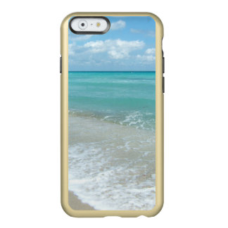Relaxing Blue Beach Ocean Landscape Nature Scene Incipio Feather Shine iPhone 6 Case