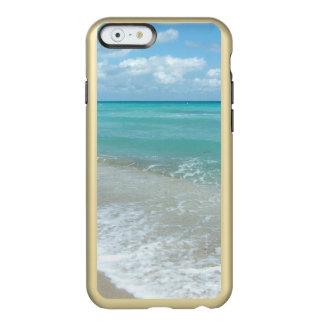 Relaxing Blue Beach Ocean Landscape Nature Scene Incipio Feather® Shine iPhone 6 Case